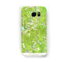 Massachusetts  USGS Historical Topo Map MA Wrentham 350795 1945 24000 Samsung Galaxy Case/Skin