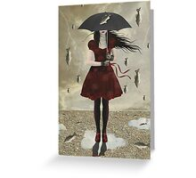 Freak Storm ( Fish Version) Greeting Card