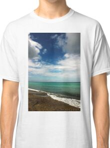 Blue and Green Sea View Classic T-Shirt