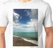 Blue and Green Sea View Unisex T-Shirt