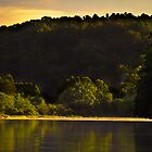 Day break at Lake Issaqueena  by DHParsons