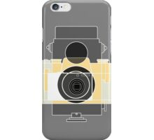 camera history - yellow iPhone Case/Skin