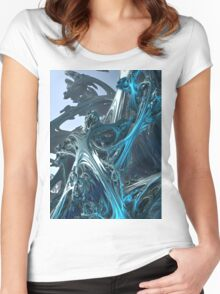 Tellurian Ice Age Women's Fitted Scoop T-Shirt