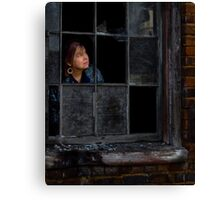 Elizabeth Waiting Canvas Print