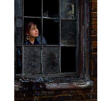 Elizabeth Waiting Photographic Print