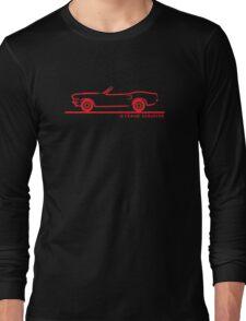 1970 Ford Mustang Convertible Long Sleeve T-Shirt