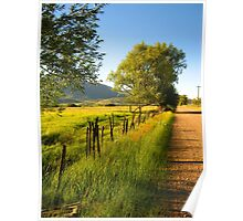 A Road in the Country Poster