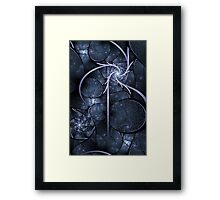 Particle Accelerator Framed Print