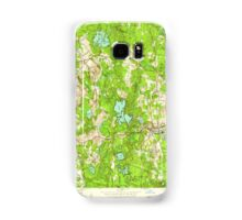 Massachusetts  USGS Historical Topo Map MA Shirley 350556 1950 24000 Samsung Galaxy Case/Skin
