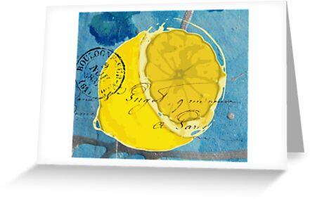 Lemon Mixed Media Digital Art by angelandspot
