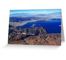 Hoover Dam.... Greeting Card