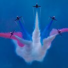 The Red Arrows Perform at Airbourne 2010 by Chris Lord