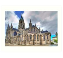Notre-Dame de Bayeux  Art Print