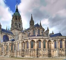 Notre-Dame de Bayeux  by paolo1955