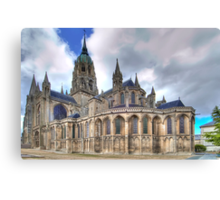Notre-Dame de Bayeux  Canvas Print