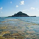 St Michaels Mount II by David Wilkins