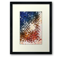 Imperfect Invulnerability Framed Print