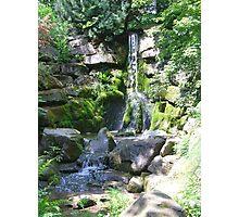 Refreshing Waterfall Photographic Print