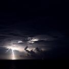 Lightning over the Bahamas  by Earl McCall