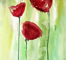 Red Tulips by julie101