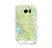 Massachusetts  USGS Historical Topo Map MA Oxford 350434 1969 24000 Samsung Galaxy Case/Skin