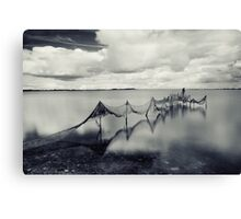 Waltz by the river  Canvas Print