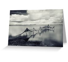 Waltz by the river  Greeting Card
