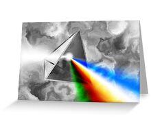Prismatica Greeting Card