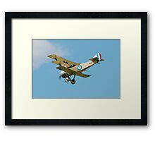 Sopwith replica triplane Framed Print