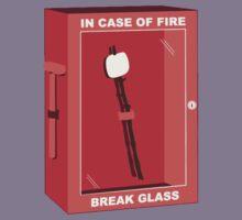 In case of fire break glass  Kids Clothes