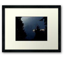 Thunder Storm Rolling In  Framed Print