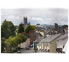 St Canice's Cathedral, Kilkenny, Ireland Poster