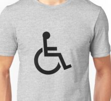 International Symbol of Access Unisex T-Shirt