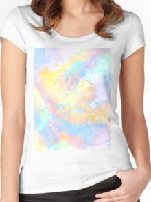 The Four Elements: Air Women's Fitted Scoop T-Shirt