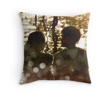 friendship is the basis of love Throw Pillow