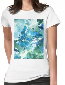 The Four Elements: Water Womens Fitted T-Shirt
