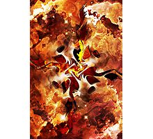 The Four Elements: Fire Photographic Print