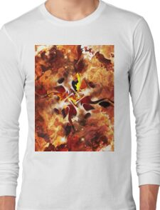 The Four Elements: Fire Long Sleeve T-Shirt