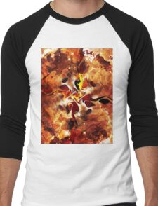 The Four Elements: Fire Men's Baseball ¾ T-Shirt