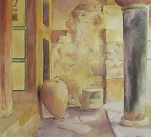 Minoan Palace Knossos  by heartmelinda