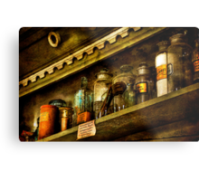 The Olde Apothecary Shop Metal Print