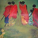 It's a Family Affair - Maasai Series by Kasai