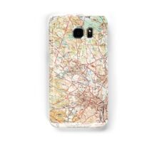 Massachusetts  USGS Historical Topo Map MA Salem 352140 1944 31680 Samsung Galaxy Case/Skin