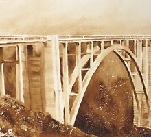 Bixby Bridge  by heartmelinda