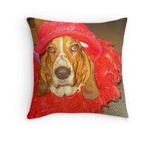 Remembering Buddy Throw Pillow