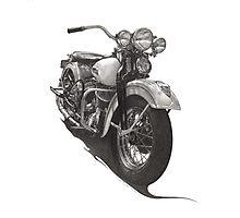 1948 Harley WL Photographic Print