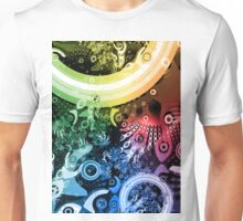 Rainbow Paintbrush Unisex T-Shirt