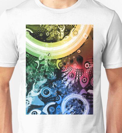 Rainbow Paintbrush Unisex T-Shirt
