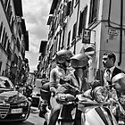 Italian Street Scene by SpencerCopping