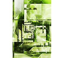 Lime Labyrinth Photographic Print